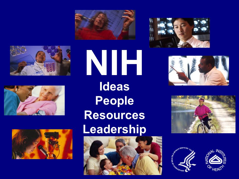 NIH Ideas People Resources Leadership