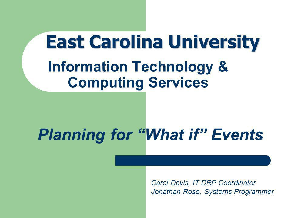 Information Technology & Computing Services