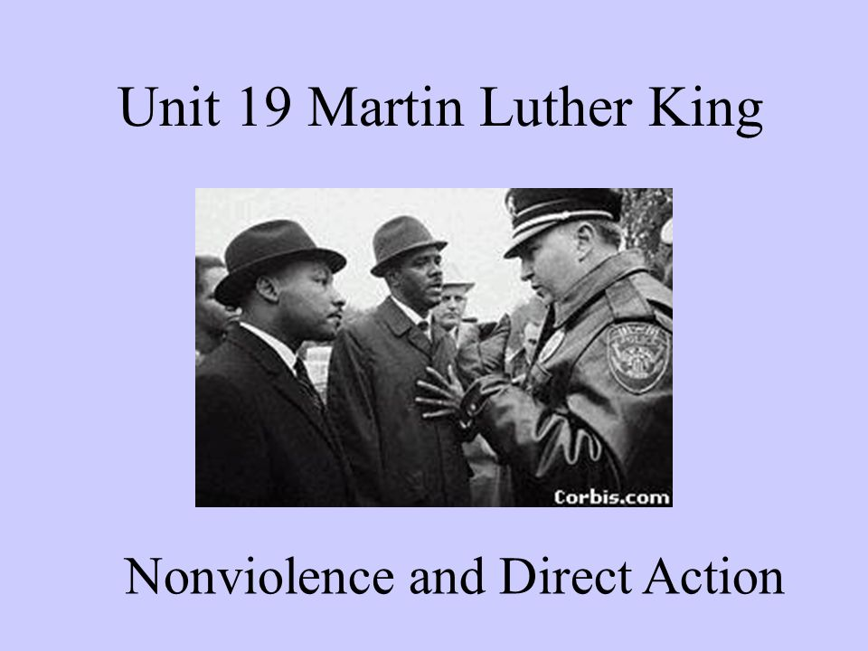 Unit 19 Martin Luther King