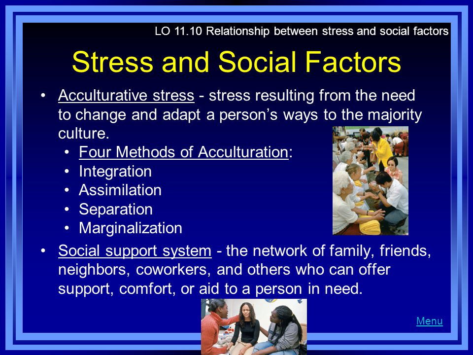 Stress and Social Factors