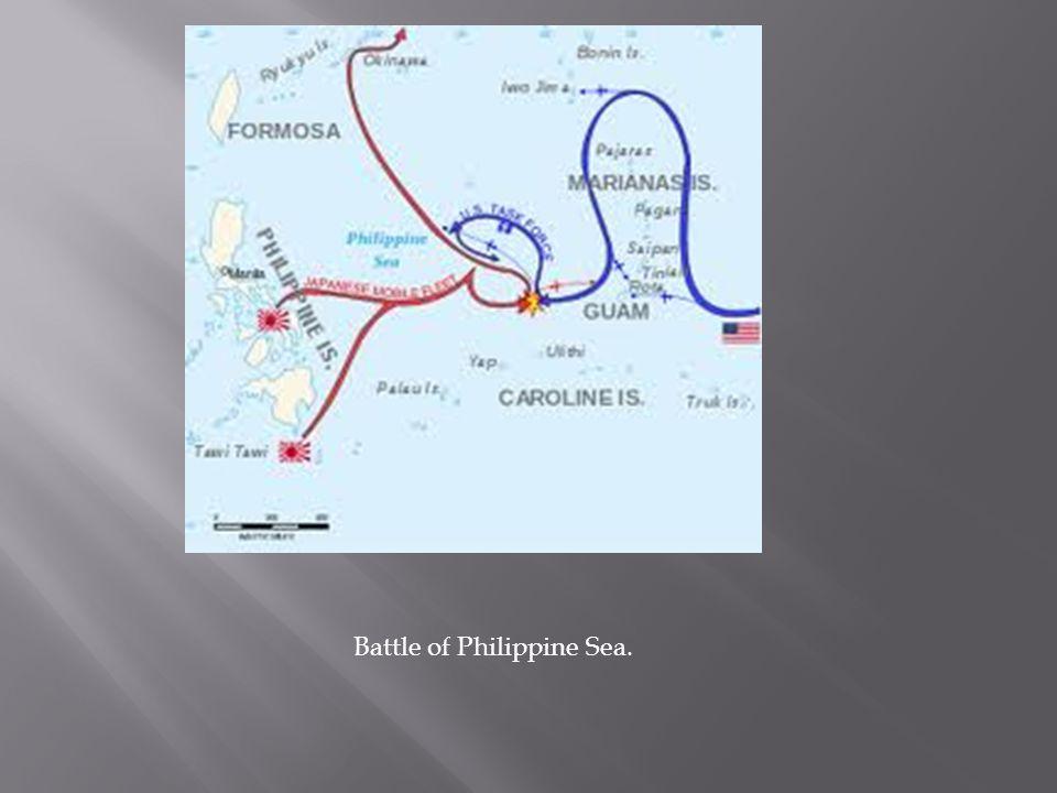 Battle of Philippine Sea.