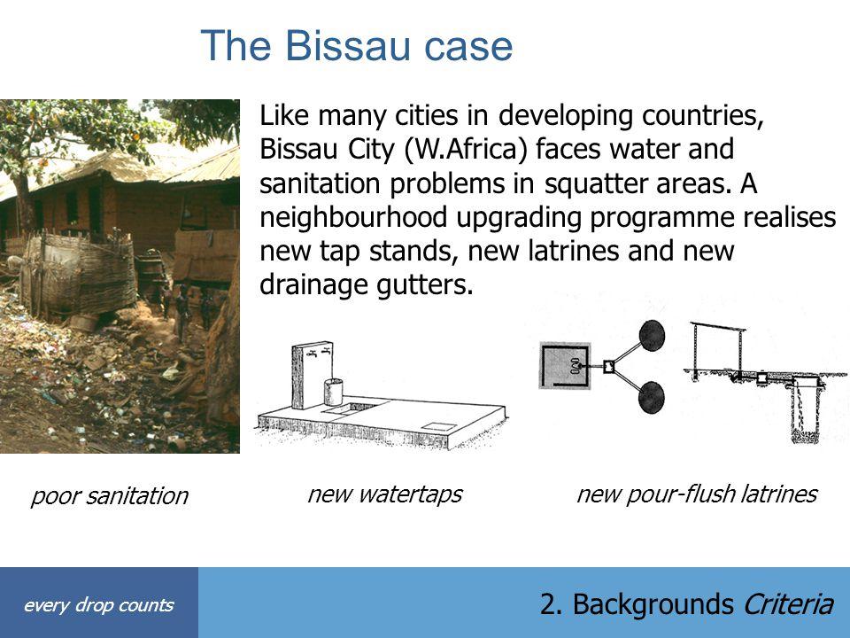 The Bissau case
