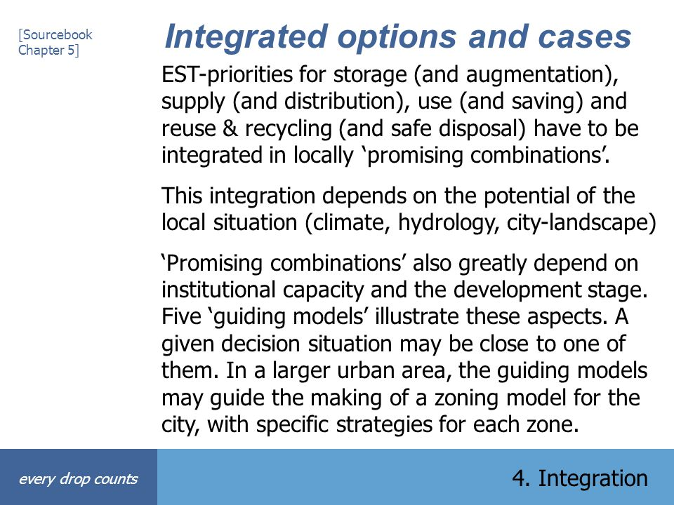 Integrated options and cases