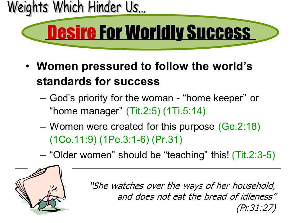 Desire For Worldly Success