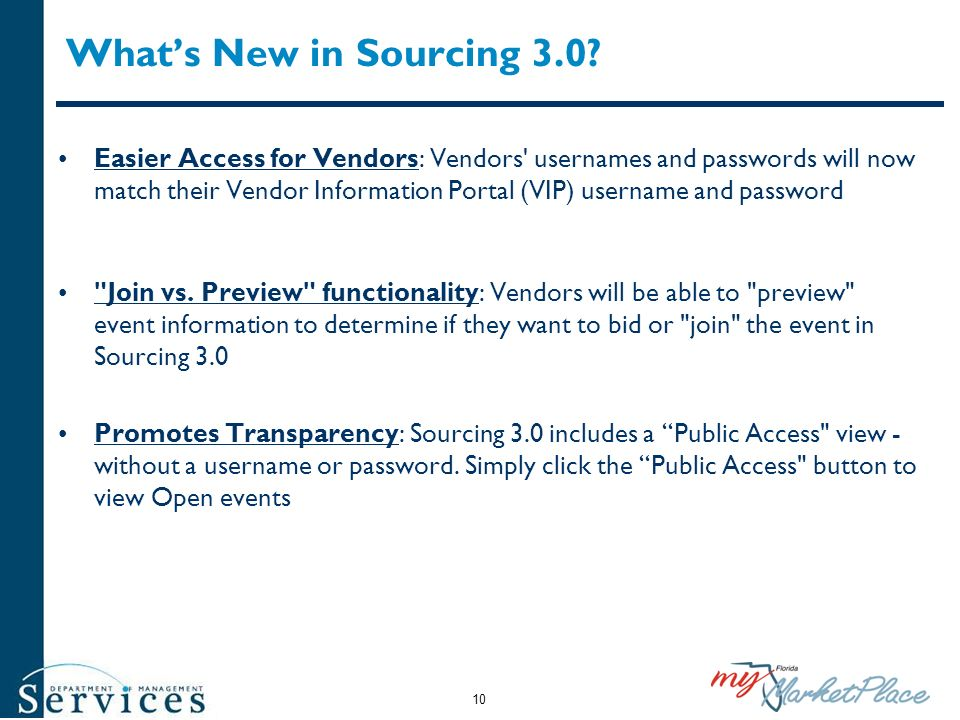 What's New in Sourcing 3.0