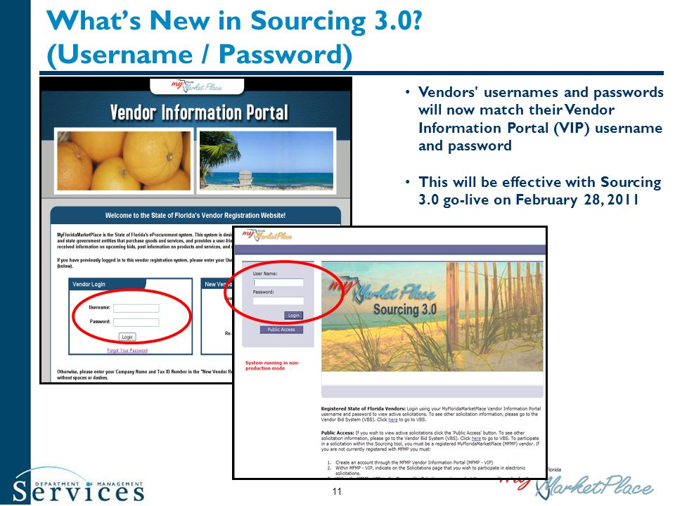 What's New in Sourcing 3.0 (Username / Password)