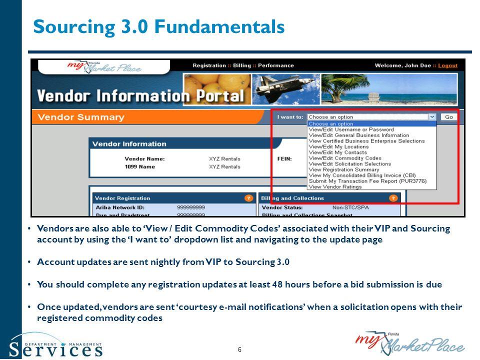 Sourcing 3.0 Fundamentals
