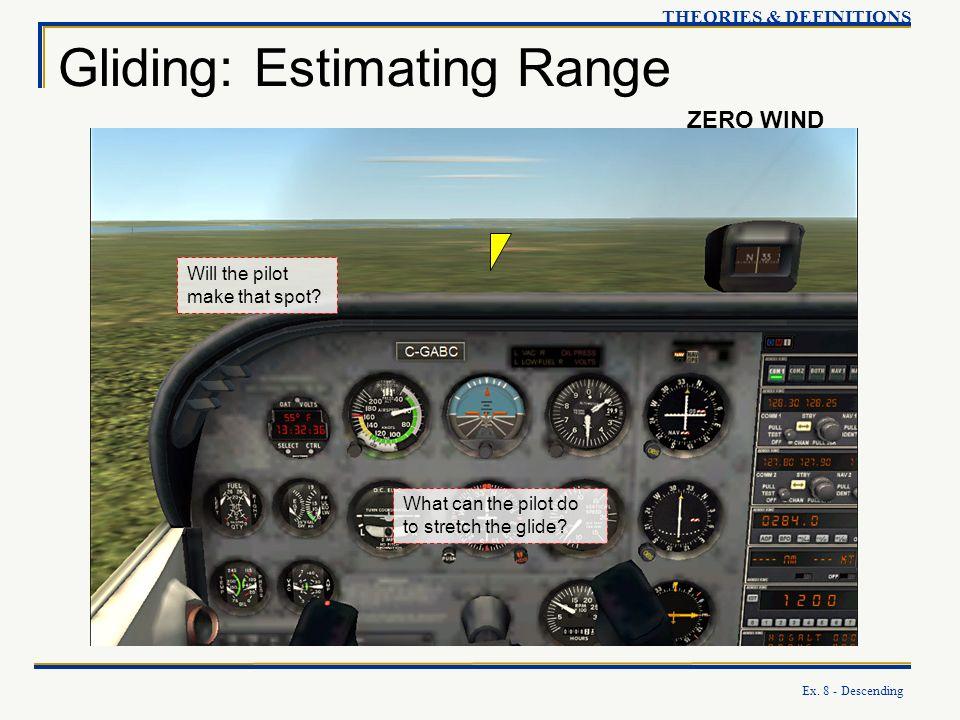 Gliding: Estimating Range