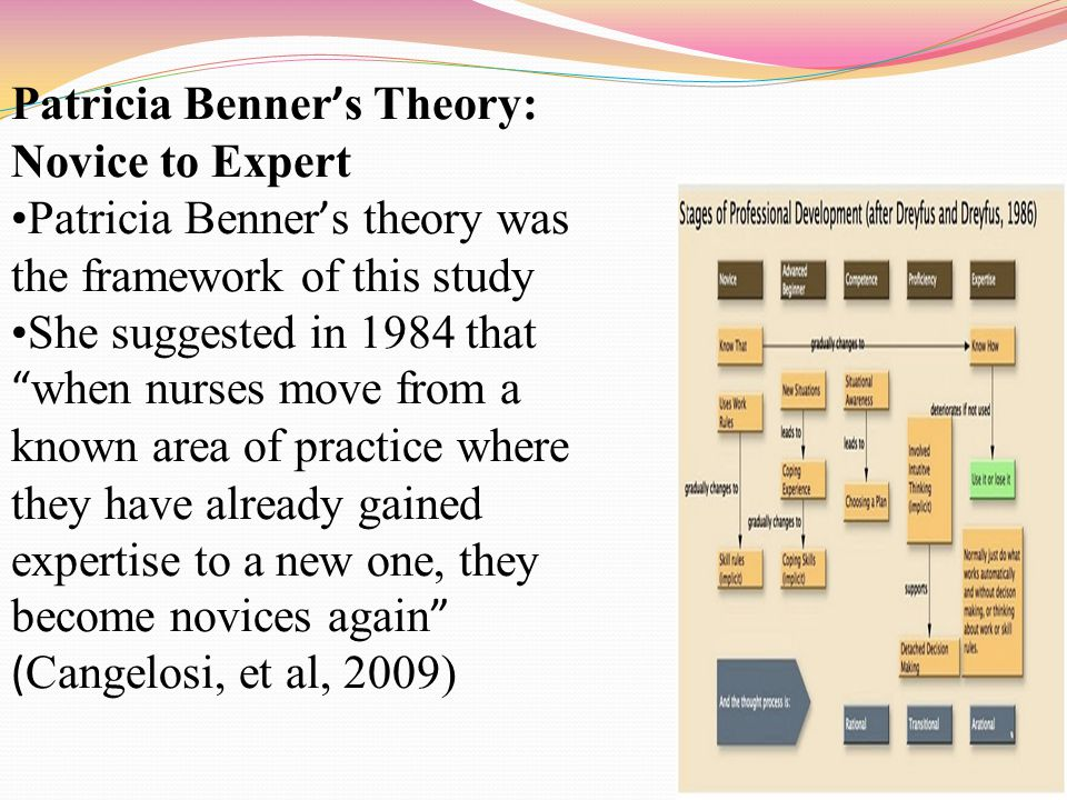 Patricia Benner's Theory: Novice to Expert