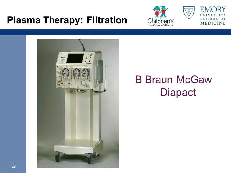 Plasma Therapy: Filtration