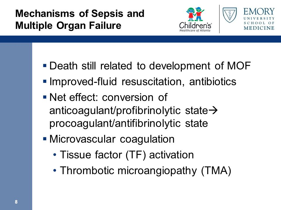 Mechanisms of Sepsis and Multiple Organ Failure