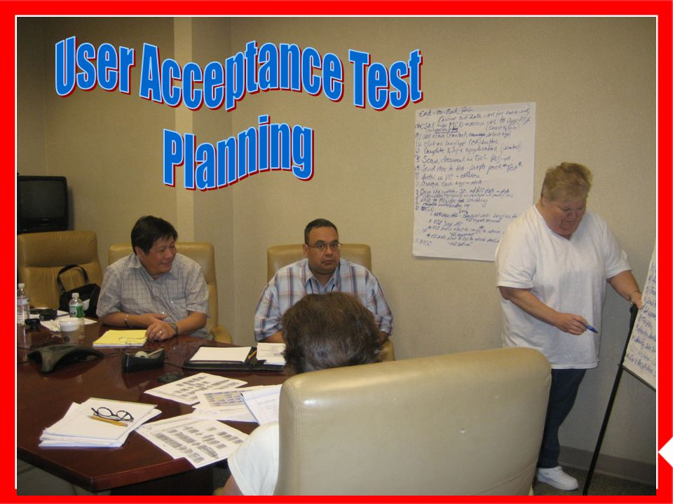 CAST User Acceptance Test Planning