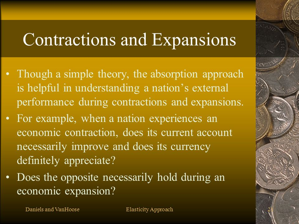 Contractions and Expansions