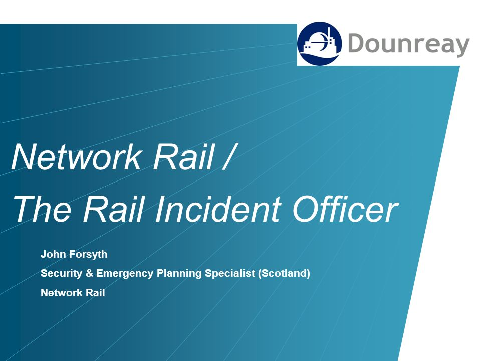 Network Rail / The Rail Incident Officer