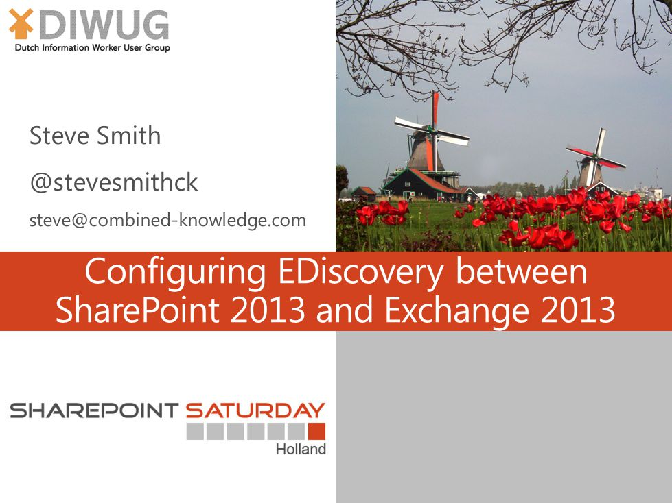 Configuring EDiscovery between SharePoint 2013 and Exchange 2013