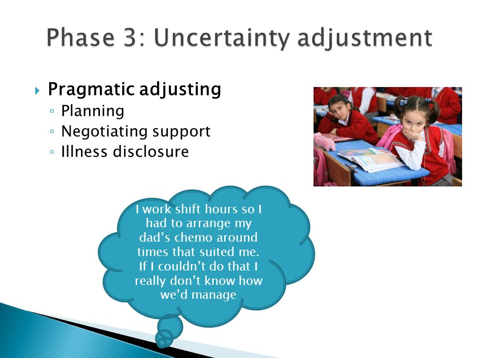 Phase 3: Uncertainty adjustment