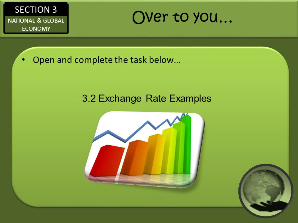 3.2 Exchange Rate Examples