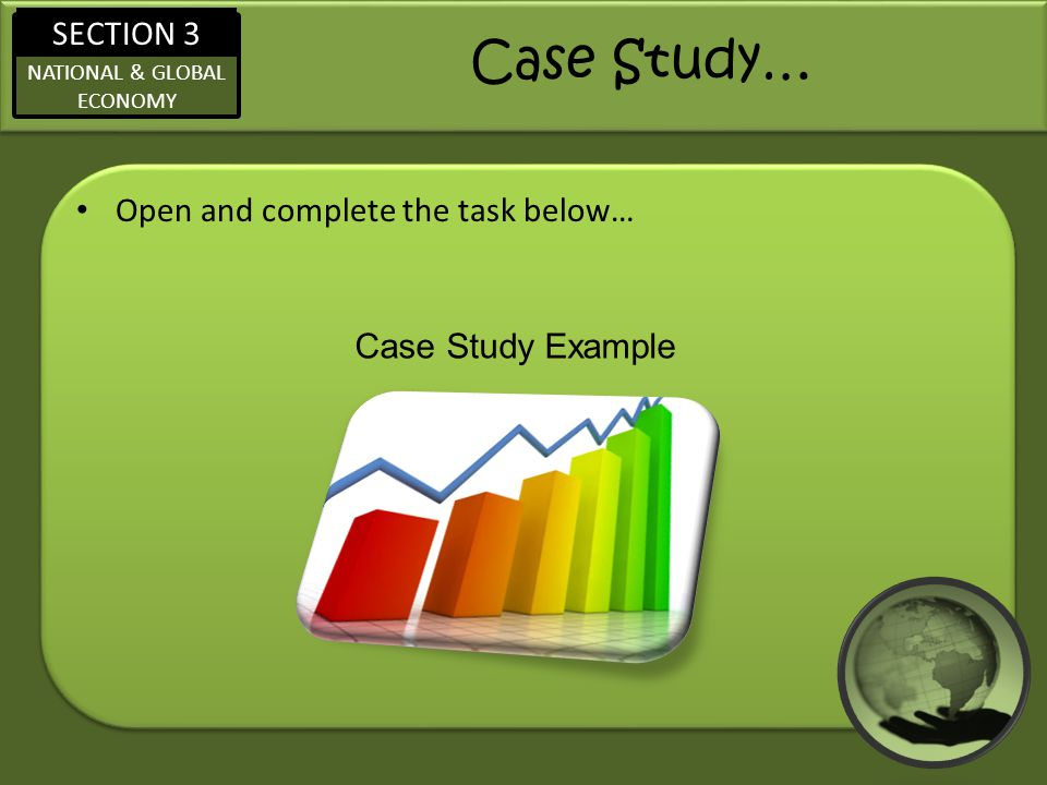 Case Study… Open and complete the task below… Case Study Example