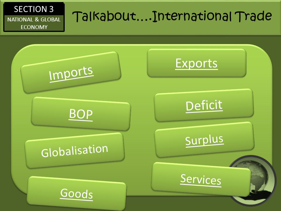 Talkabout….International Trade