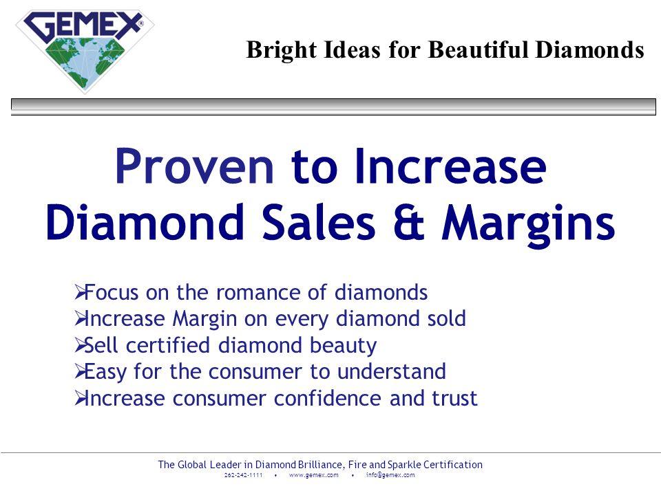 Proven to Increase Diamond Sales & Margins
