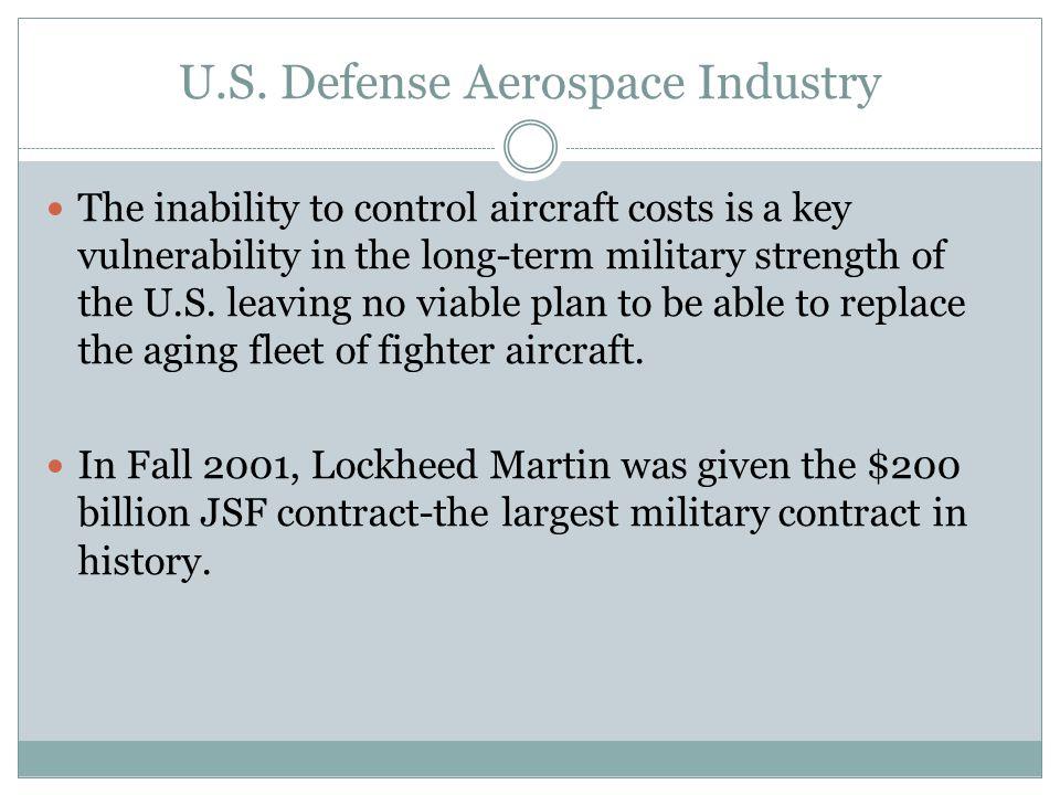 U.S. Defense Aerospace Industry