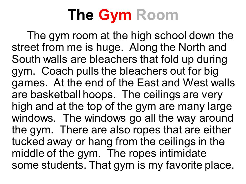 The Gym Room
