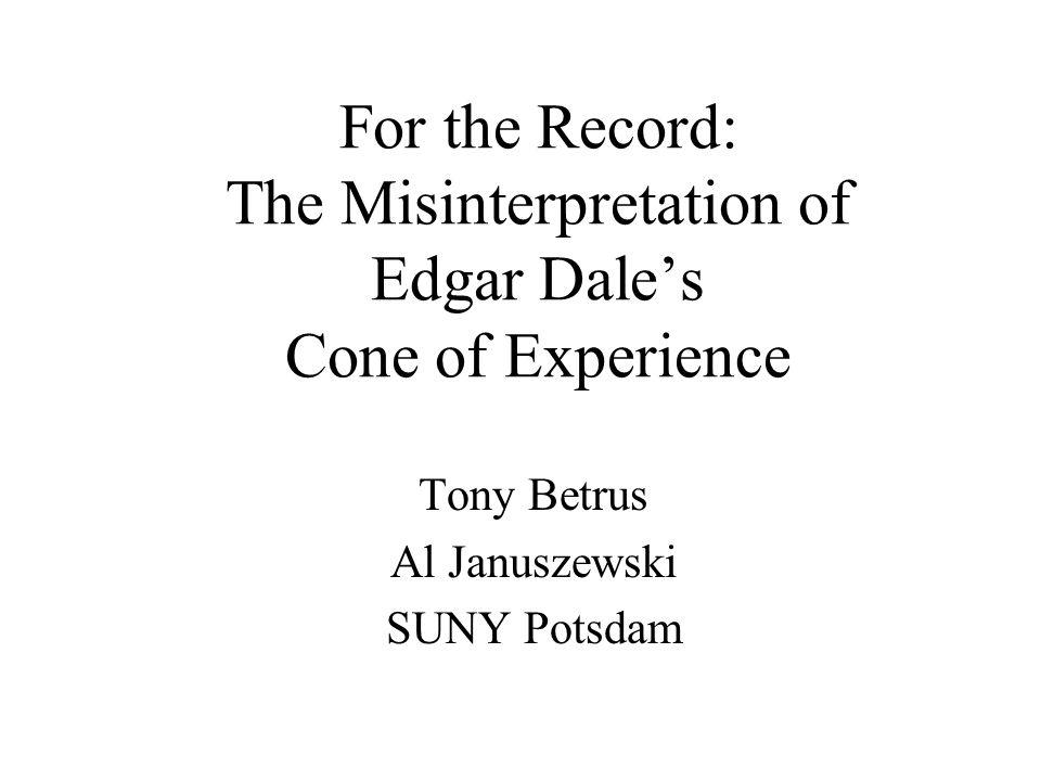 Tony Betrus Al Januszewski SUNY Potsdam