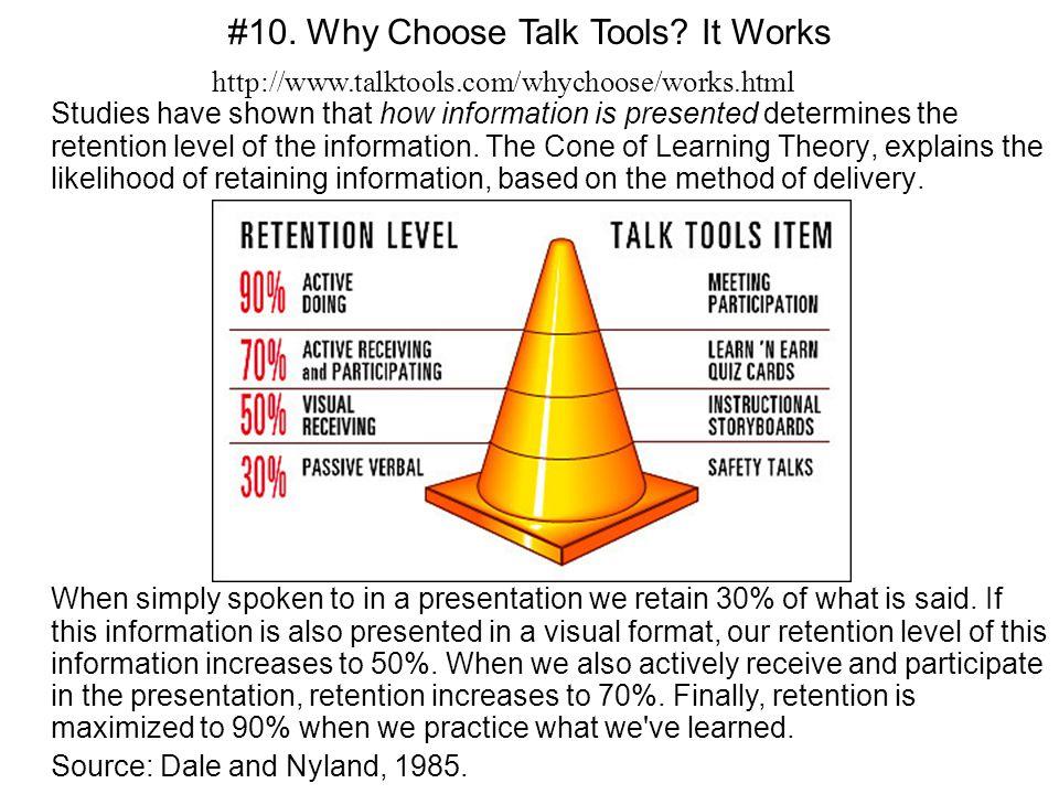 #10. Why Choose Talk Tools It Works