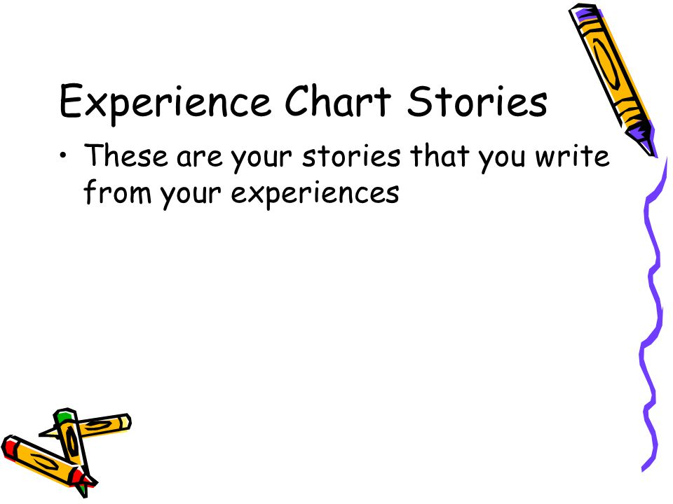 Experience Chart Stories