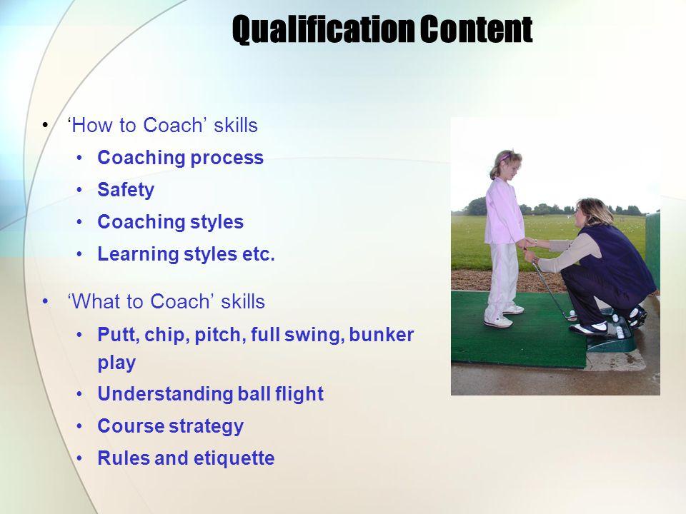 Qualification Content