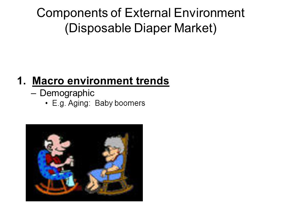 Components of External Environment (Disposable Diaper Market)