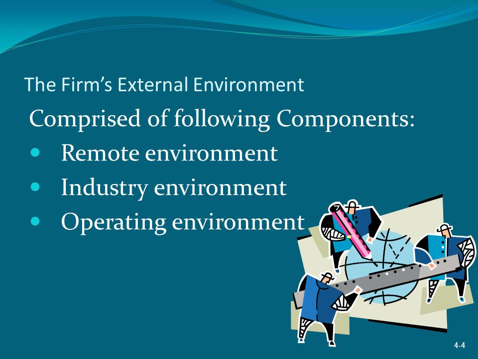 The Firm's External Environment
