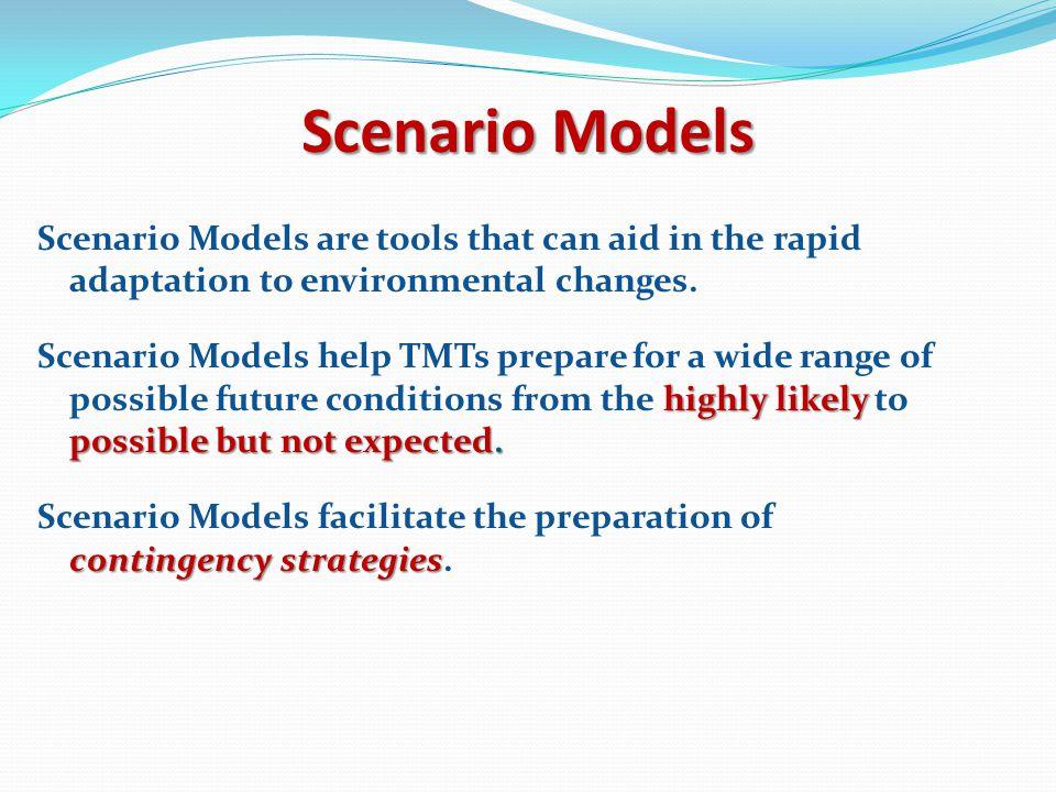 Scenario Models