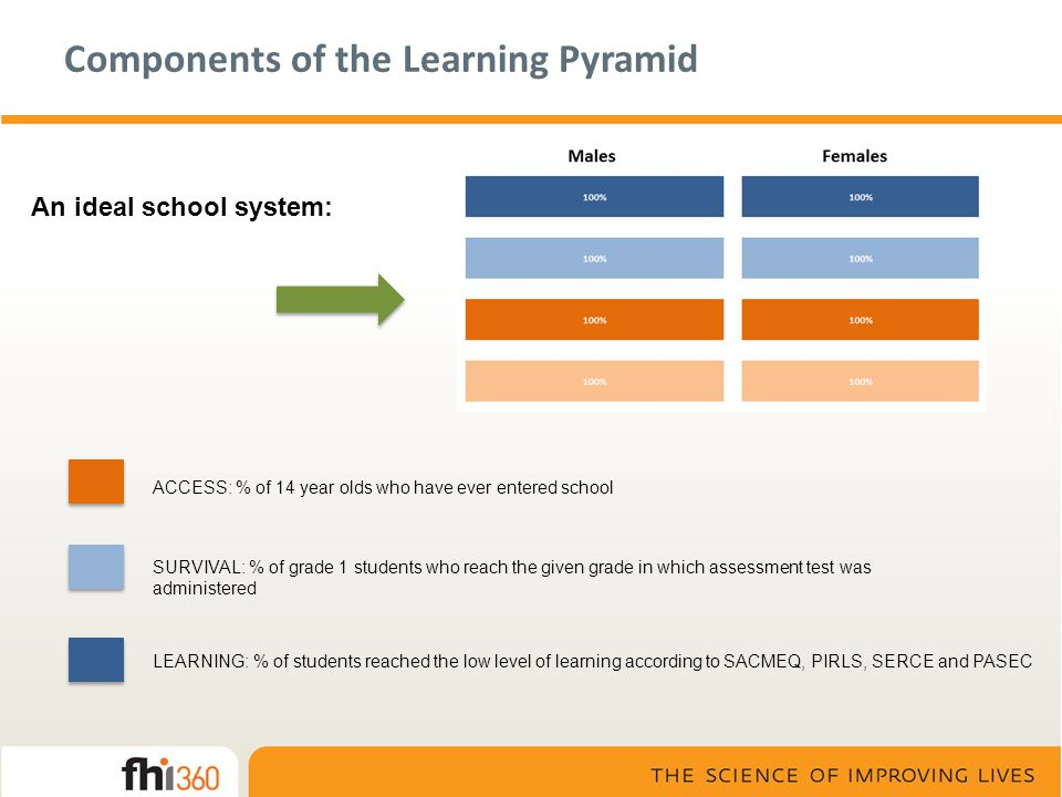 Components of the Learning Pyramid