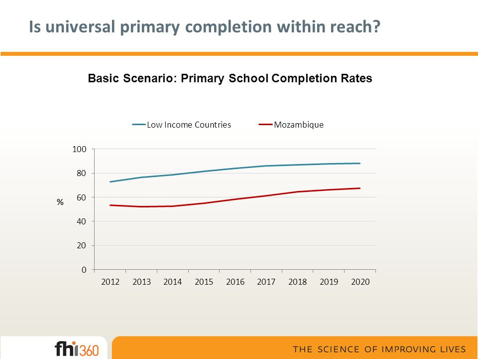 Is universal primary completion within reach