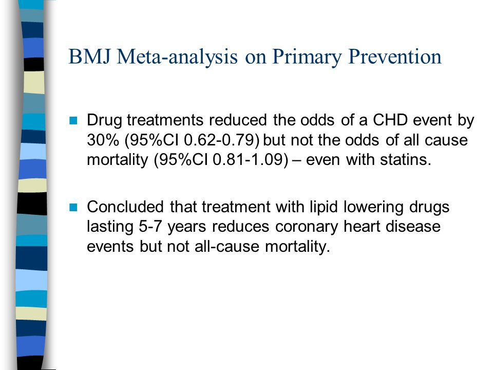 BMJ Meta-analysis on Primary Prevention