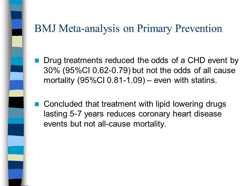 BMJ Meta-analysis on Primary Prevention