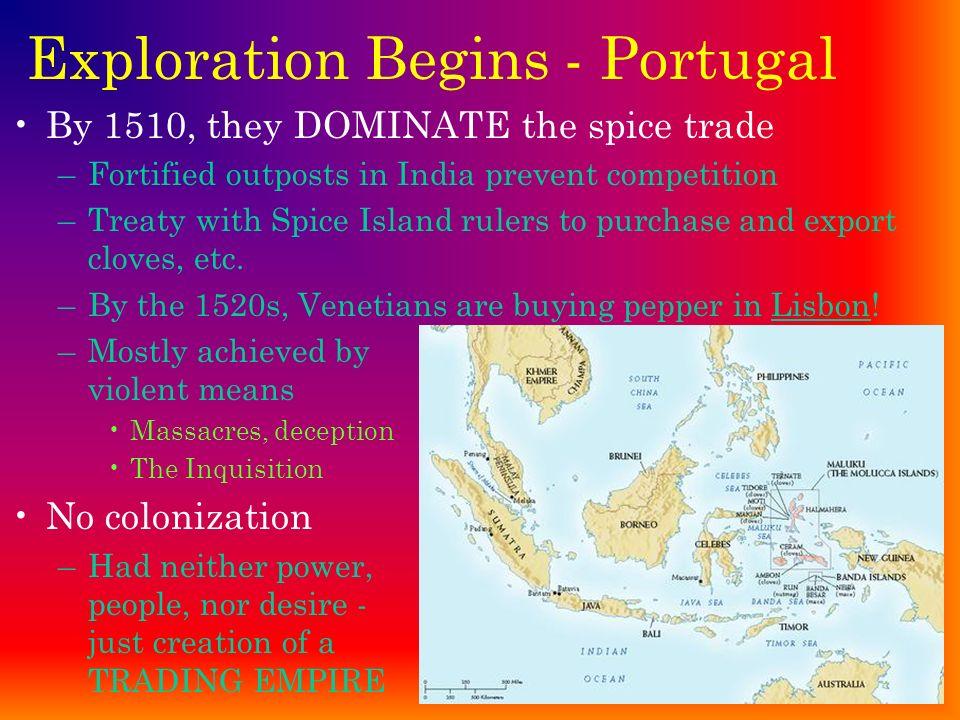 Exploration Begins - Portugal
