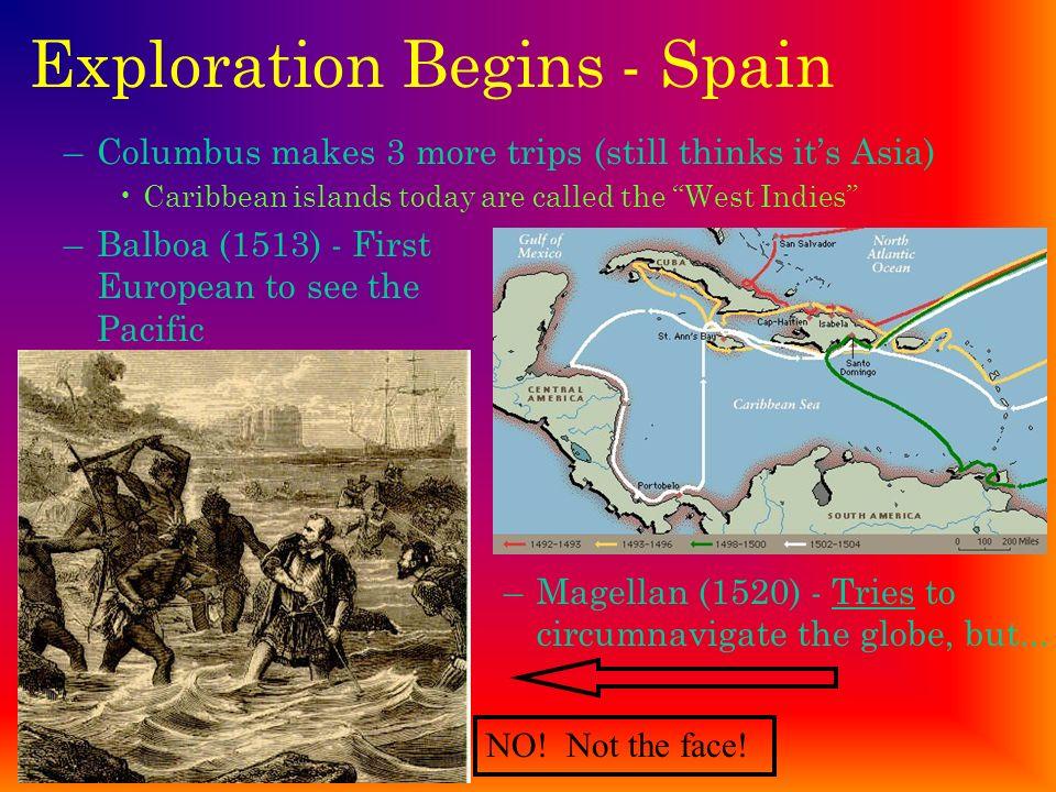 Exploration Begins - Spain