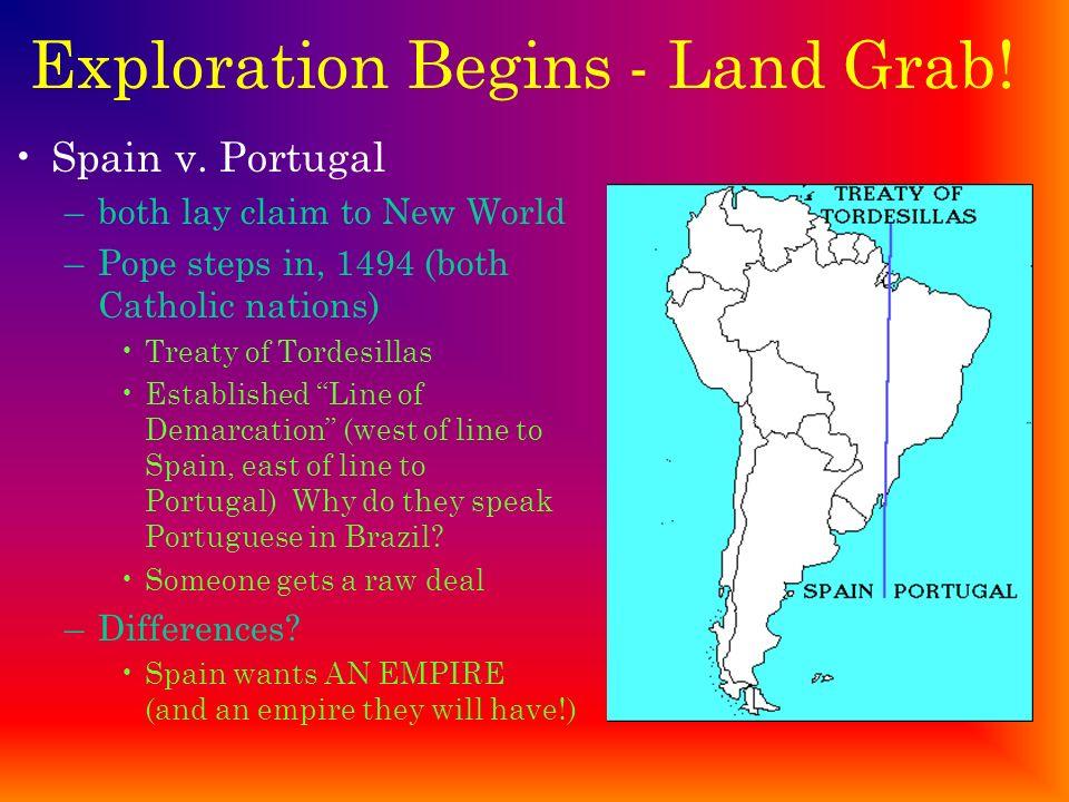 Exploration Begins - Land Grab!