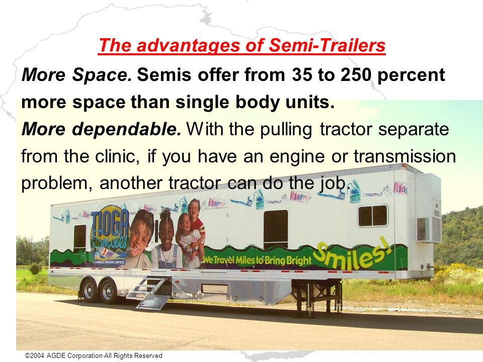 The advantages of Semi-Trailers