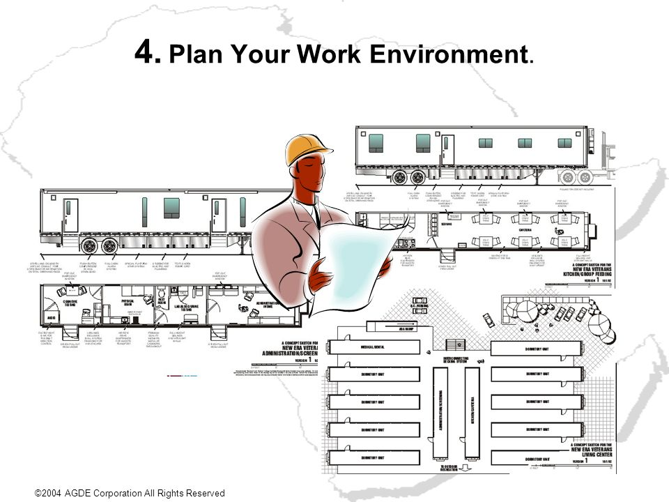 4. Plan Your Work Environment.