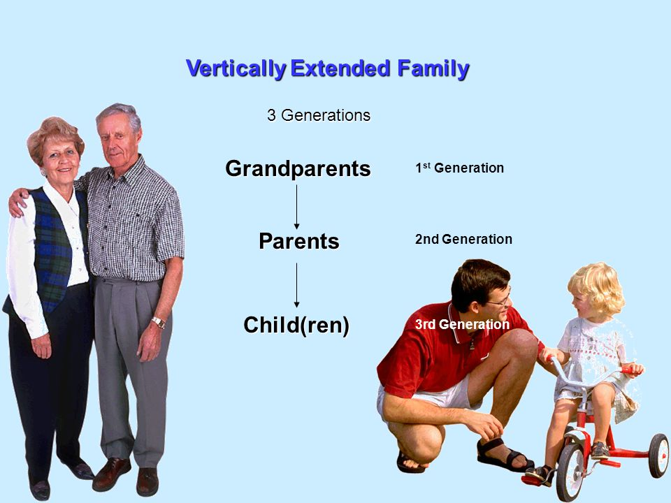 Vertically Extended Family