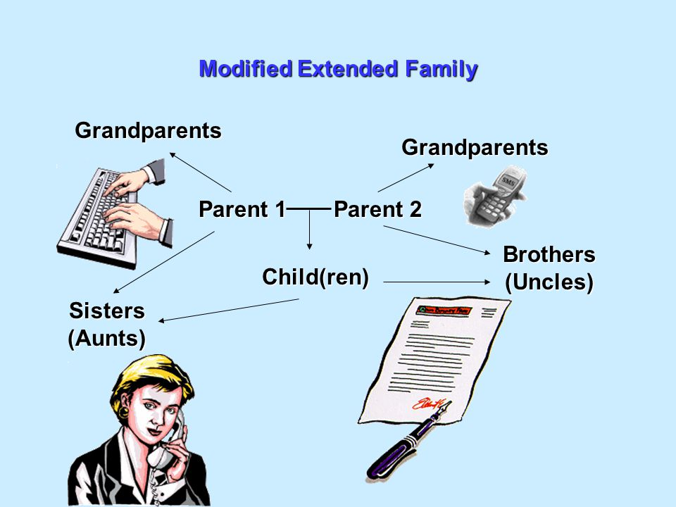 Modified Extended Family