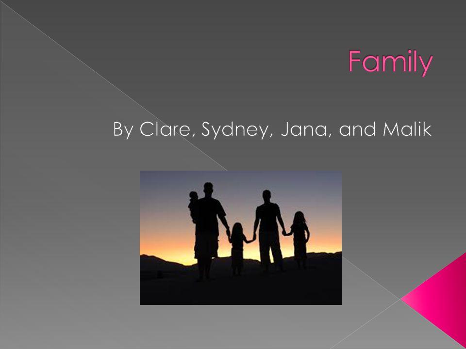 By Clare, Sydney, Jana, and Malik