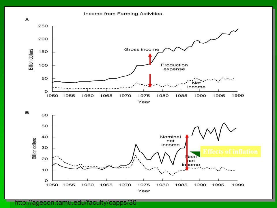 Effects of inflation http://agecon.tamu.edu/faculty/capps/30