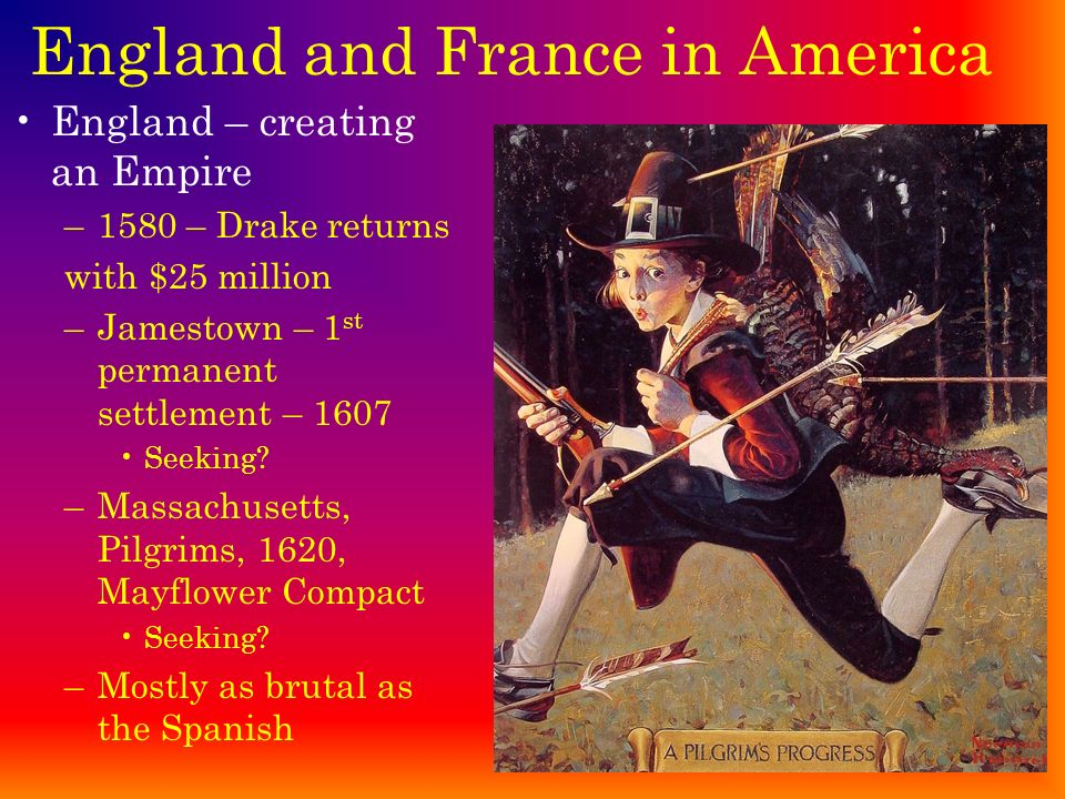 England and France in America