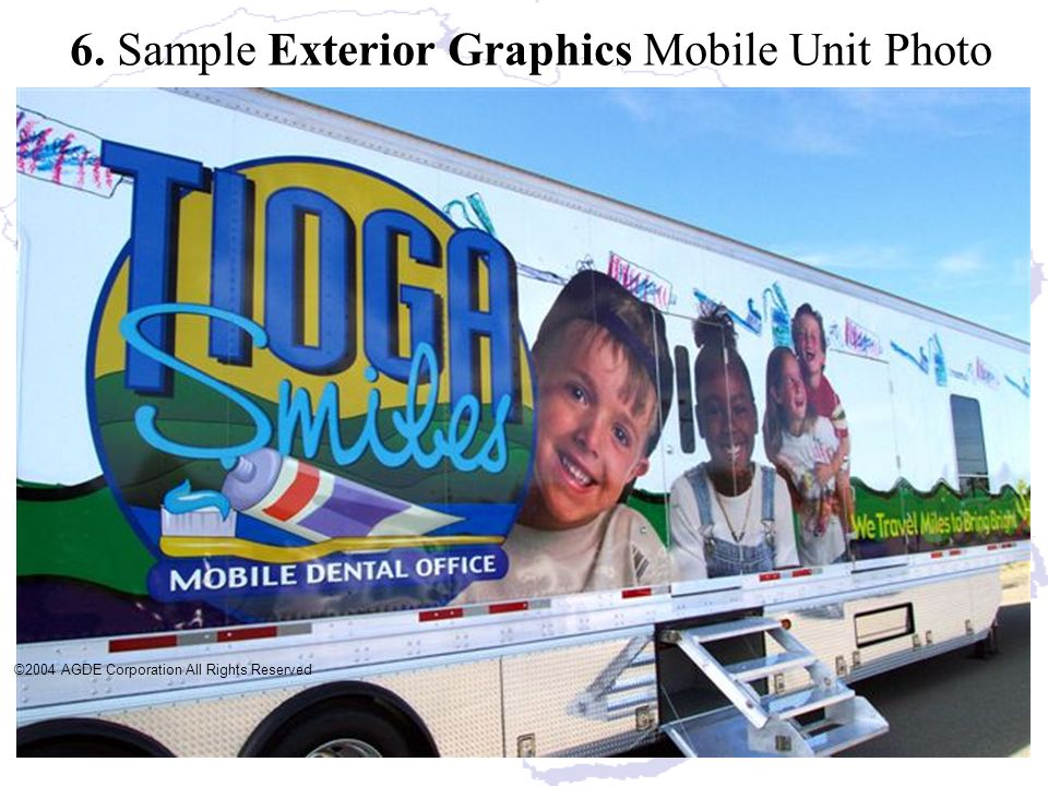 6. Sample Exterior Graphics Mobile Unit Photo
