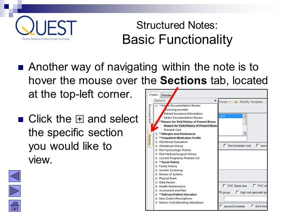 Structured Notes: Basic Functionality.