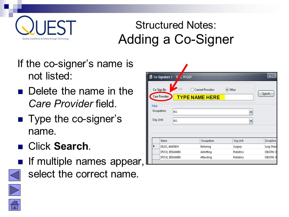 Adding a Co-Signer Structured Notes: